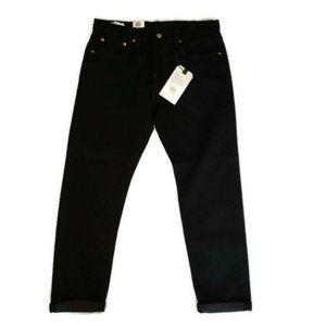 Levi's Premium black  jeans size  32 Hi-Ball Roll